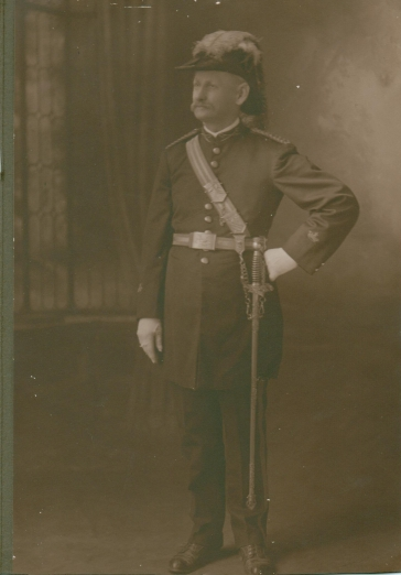 Jacob Beckman militia, civil war